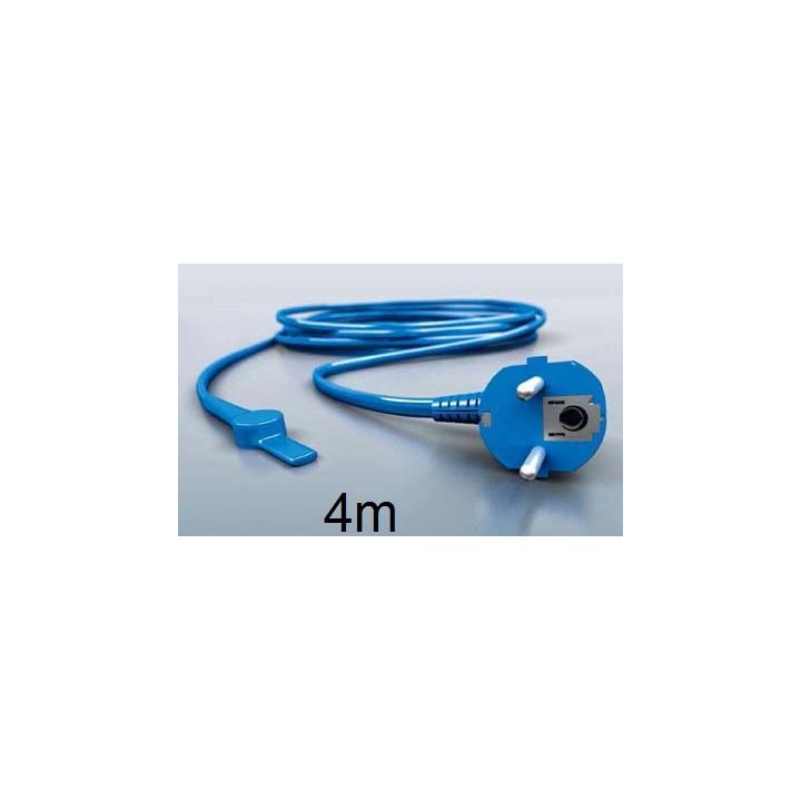 Cable chauffant avec thermostat antigel aquacable-4m canalisation tuyau eau anti gel electrique
