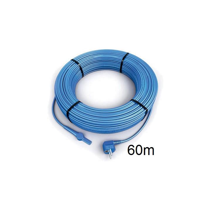 Frostschutz elektroheizung kabel 60 meter aquacable-60 rohr mit wasserschlauch thermostat