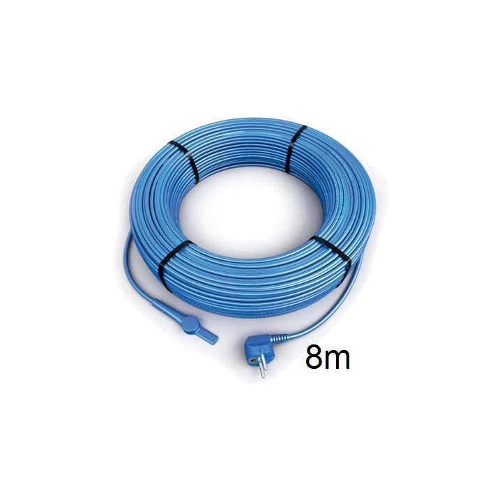 Frostschutz elektroheizung kabel 8 meter aquacable-8 rohr mit wasserschlauch thermostat