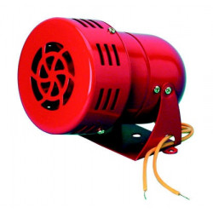 Electromechanic turbine siren 110db turbine siren, 220vac 0.35a 500m electronic turbine red siren turbine siren sonore protectio