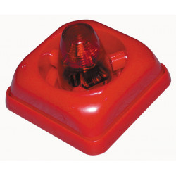 Mini fire siren for fire alarm system electronic 95db interior fire siren, 15 24vdc 30ma acoustic