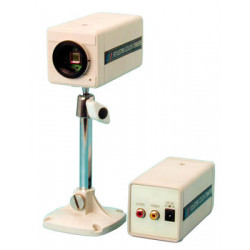 Camera 1 3'' color camera without lens with audio, 380l, 12vdc video surveillance system color camera without lens with audio vi
