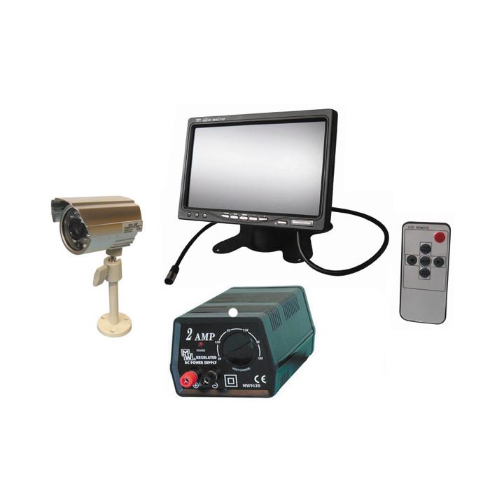 Pack se drogará estancado(restaäado) vigilancia vídeo colorada objetivo vídeo vigilancia vídeo visión nocturna ir