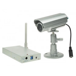 2.4ghz wireless system with weatherproof colour camera