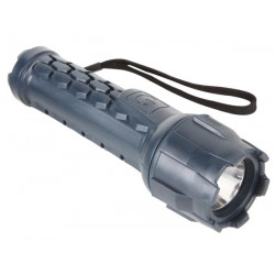1 watt cree led rubber torch 70lm zll10r