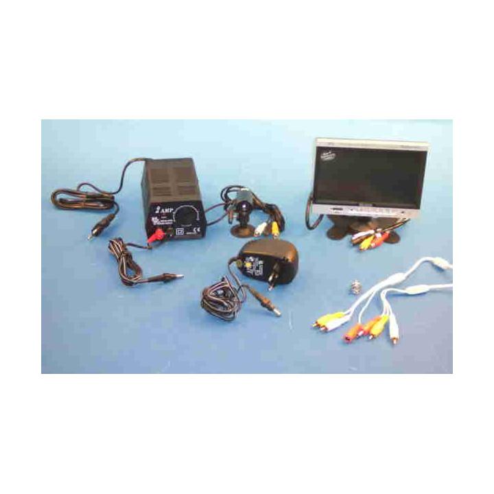 Videouberwachung pack farbkamera farbevideo objektiv videokamera sicherheit sicherheitstechnik