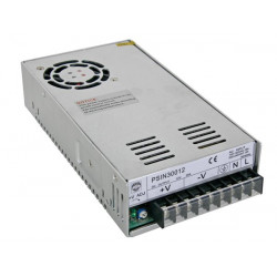 Switching power supply 110v 220v 25a 300w 12vdc 85 to 264vca closed frame psin30012