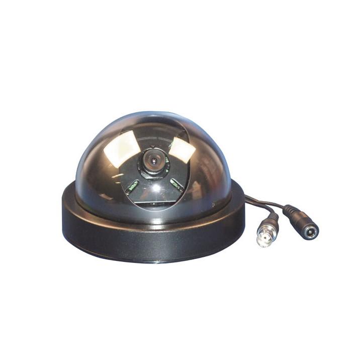 Camera color camera + dome lens, 12vdc video surveillance system color cameras dome lens video audio color cameras video surveil