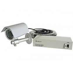 Waterproof 1 3'' ir colour ccd camera with b w night vision
