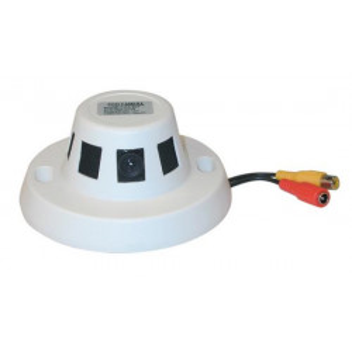 Farbkamera ccd 12v video uberwachung + objektiv in rauchwarnungen videouberwachung uberwachungskamera sicherheitstechnik uberwac