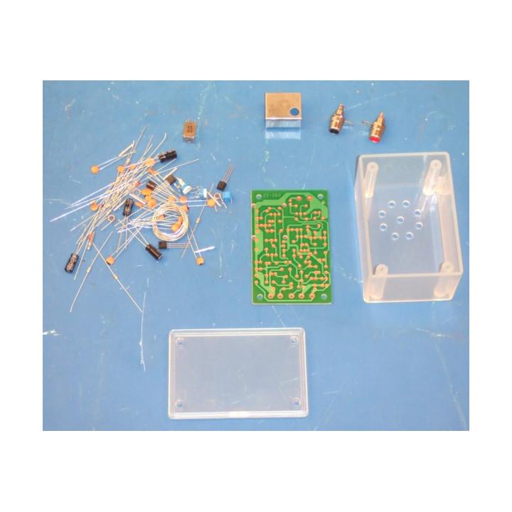 Wireless audio video transmitter dit kit hf radio transmitter broadcasting radio transmission