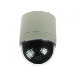 Camera colour camera motorized dome cover with zoom 17x360, 12vdc video surveillance system motorised dome cover colour camera w