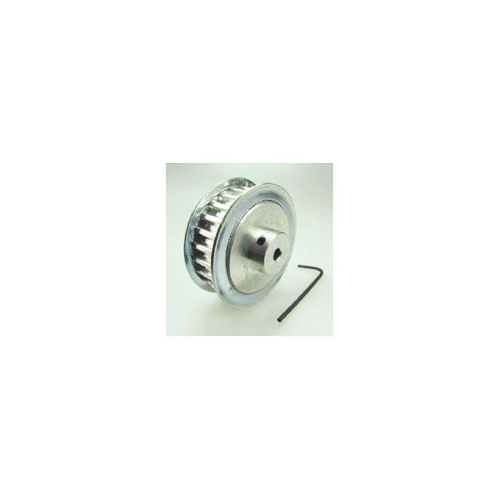 Alluminio puleggia 25 denti asse di fresatura cnc 4 millimetri mutevole cornice struttura dei mobili qumfa919d10
