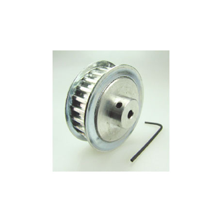 Aluminum pulley 25 tooth axis cnc milling 4mm changeable furniture frame structure qumfa919d10