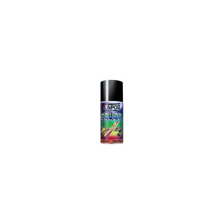 Peinture aérosol multiplex elapor couleur noir - 150 ml modélisme déco structure chassis rmmx602712