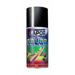 Spray paint multiplex elapor color black - 150 ml model deco frame structure rmmx602712