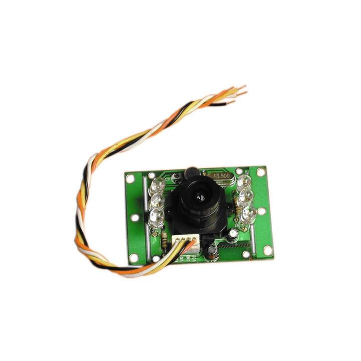 Camara blanco y negro 12v 1 4'' + objetivo en un circuito vigilancia videovigilancia camaras b n camaras blanco y negro