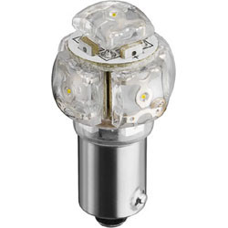 Lamp ba9s 12v led white 8000k