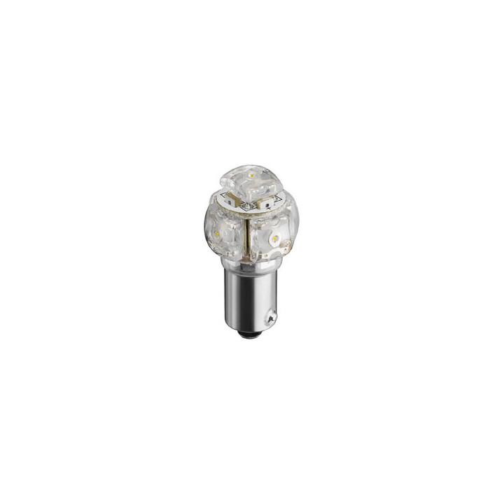 Lamp ba9s 12v led white 8000k