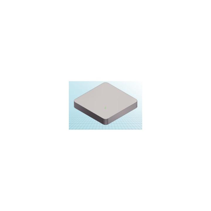 Aluminum profile 30x30mm 2 rain kind f/eq-1m - Eclats Antivols
