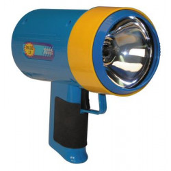 Torche rechargeable halogene 250 000 candelas reconditionnée lampe electrique halogene