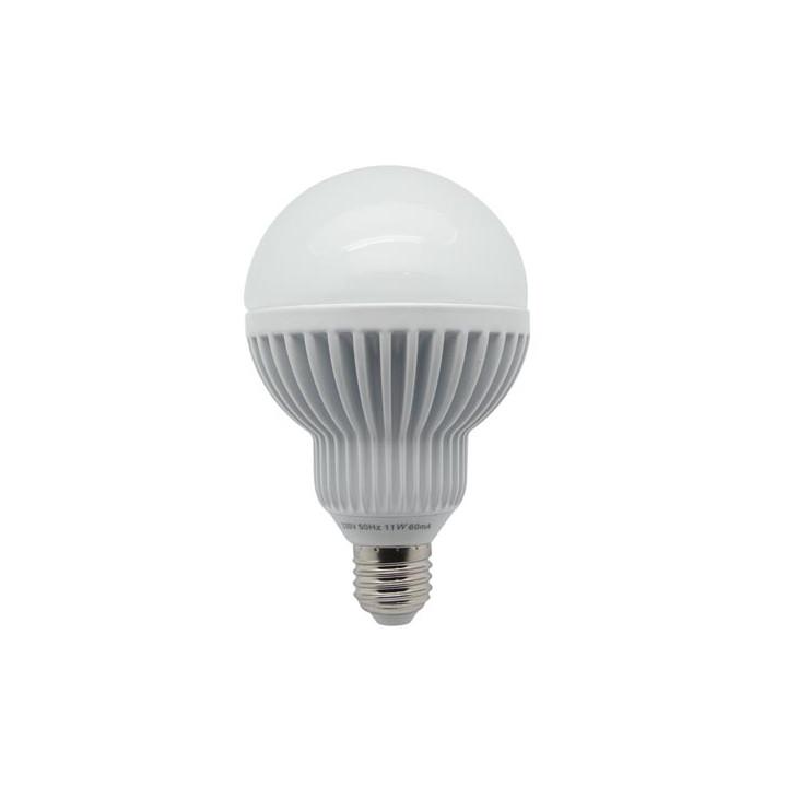 Globe lamp h.q. led 11w > 43w e27 230v 4200 ° k neutral white 660lm ø 94 x 150mm ref: lal1q2c