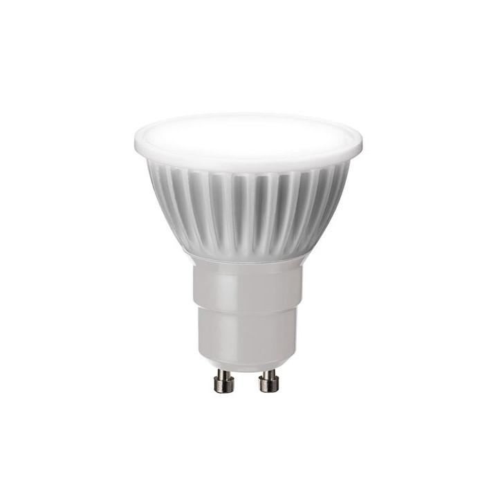 Led spot lamp 4w warm white 2700 ° k 165 lm gu10 230vac ø 50 x 58mm ref: lal3b3j