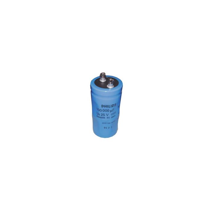Capacitor c38-39 10 000 uf 25vdc chemical dim: 35 x 85 mm. ref: cdco3825v10kmf