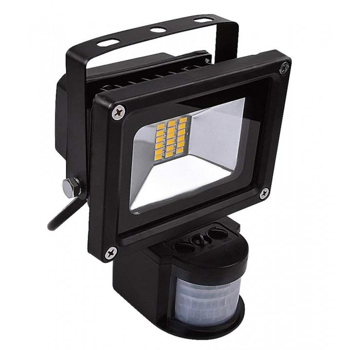Projecteur etanche a led spot smd 20w radar détecteur présence 220v lumière extérieur