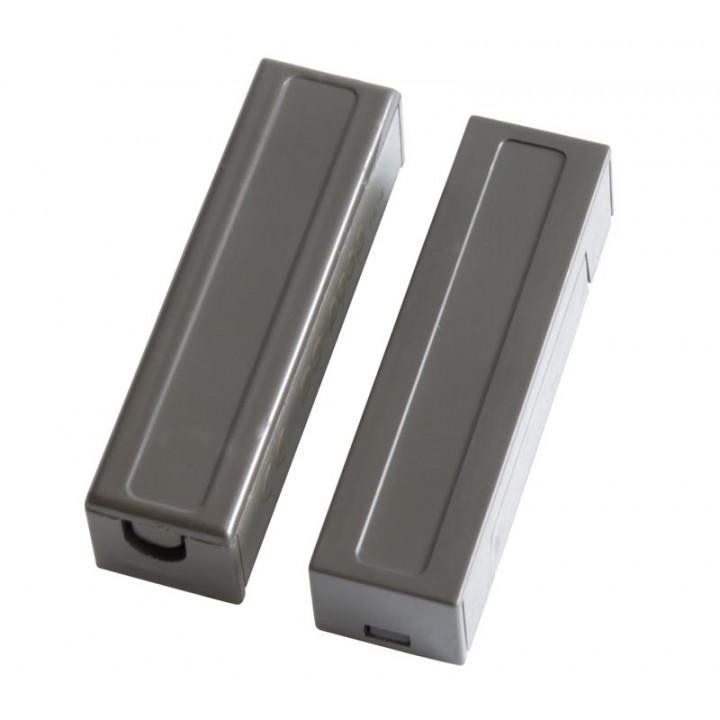 Detector öffnung sensor magnetkontakt alarmkontakt nf projektion creme bs-2033 braun