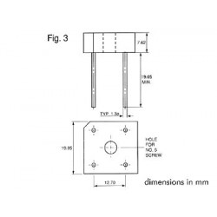 Brückengleichrichter 100v 5a br101 100v5
