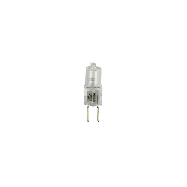 Blister pack de 1 bombillas de halógeno e-caps seguro g6.35 12v 35w 28w gu4 h-g635-01 lámpara de iluminación de luz