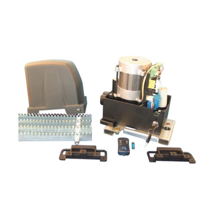 Kit motorizzazione basico per cancello scorrevole 800kg complessivo automatismi cancello scorrevole 1010w