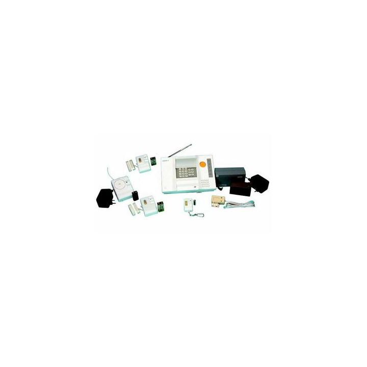 Pack alarme sans fil 3 modes detection 433mhz pro alarmes maison villa magasin appartement
