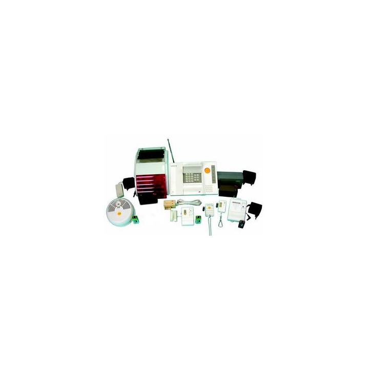 Pack alarme sans fil 3 modes detection 433mhz super pro alarmes maison villa magasin appartement