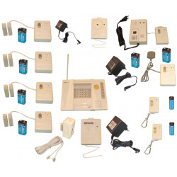 Kit alarma inalambrico 3 modos deteccion 433mhz super pro alarma inalambrica