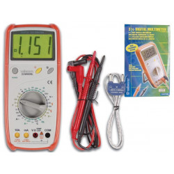Multimeter 3 1/2 digits with protection of measurement error dvm990bl