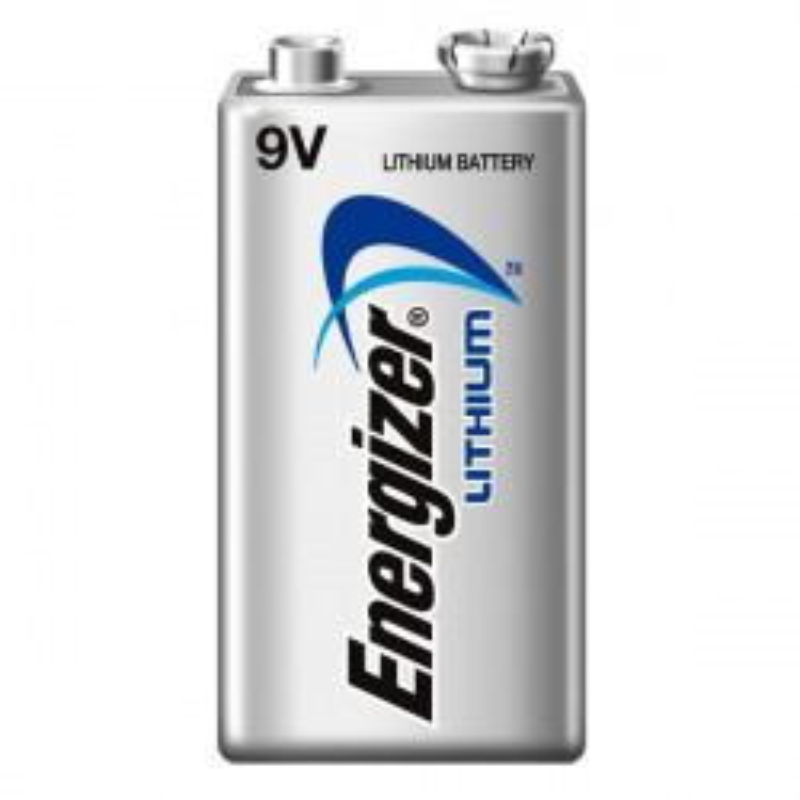 Pile 9v lithium energizer l522 750mah em9v 6f22 6lf22 am6 6lr61 1604a a9v 522 mn1604 a1604 4022
