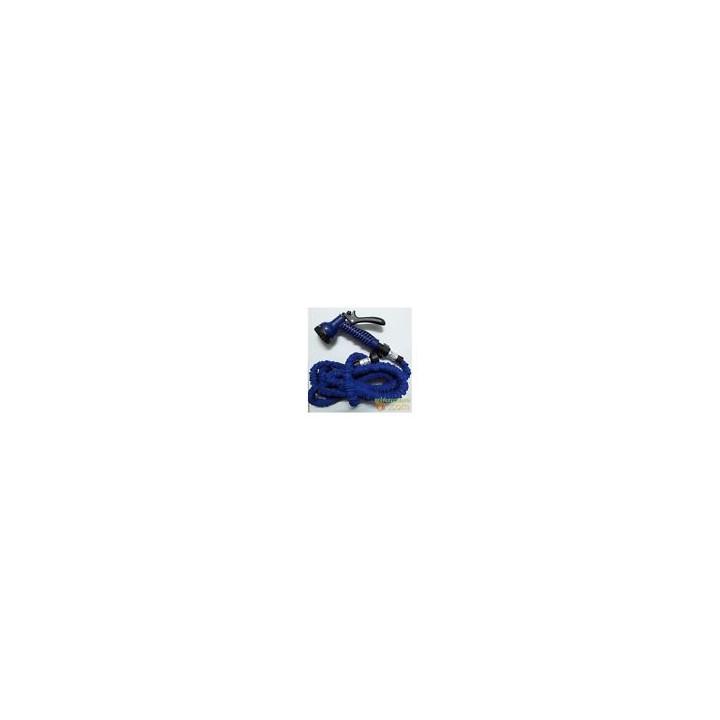 Tuyau d arrosage boyau extensible xhose 23m pistolet adaptateur rapide euro compatible gardena ©