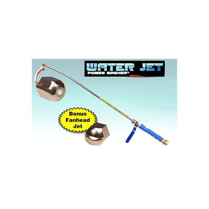 Lance a eau nettoyeur lavage haute pression pulverisateur tête flexible 5 en 1 metal universel 2 jet
