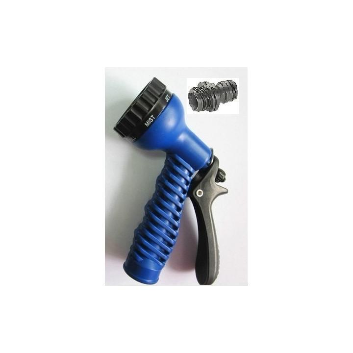 Pistolet d arrosage style gardena © multifonction 7 jets pour tuyau extensible hose brumisateur