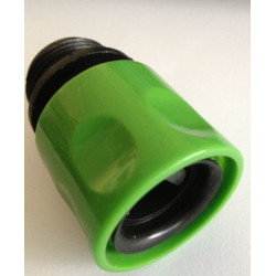 Garden faucet adapter 3/4 male 20/27 euro connector fitting gardena © stretch hose watering