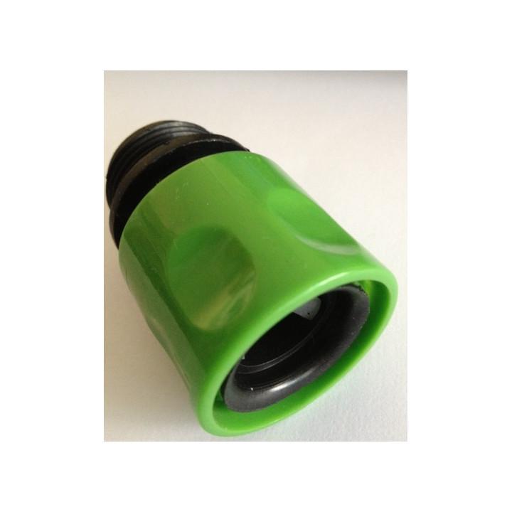 Garden wasserhahn adapter 3/4 männlich 20/27 eurostecker passende gardena © stretch hose bewässerung