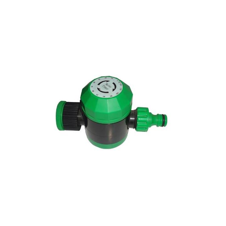Programmateur extérieur étanche interupteur minuteur  5 à 120mn tuyau d'arrosage ou robinet horloge
