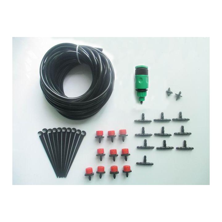 Kit 10 bewässerung sprinkler 10m gardena schlauch-anschluss unterstützt bewässerung schlauch x