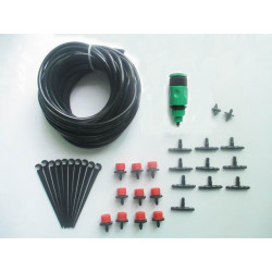 Kit 10 irrigation sprinklers 10m gardena hose connector supports watering hose x