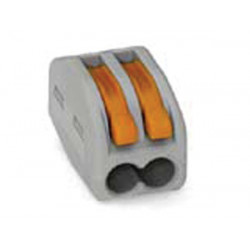 Connection terminal 2 x 0.08-4mm for rigid conductors or gray