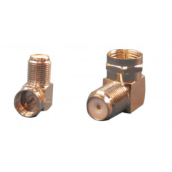 Electric connector male bend to female