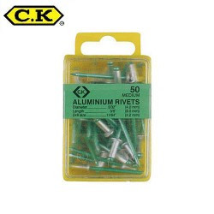 Aluminium niet 3.15x9mm pro schachtel mit 50 stück ref: ouckt3819a412
