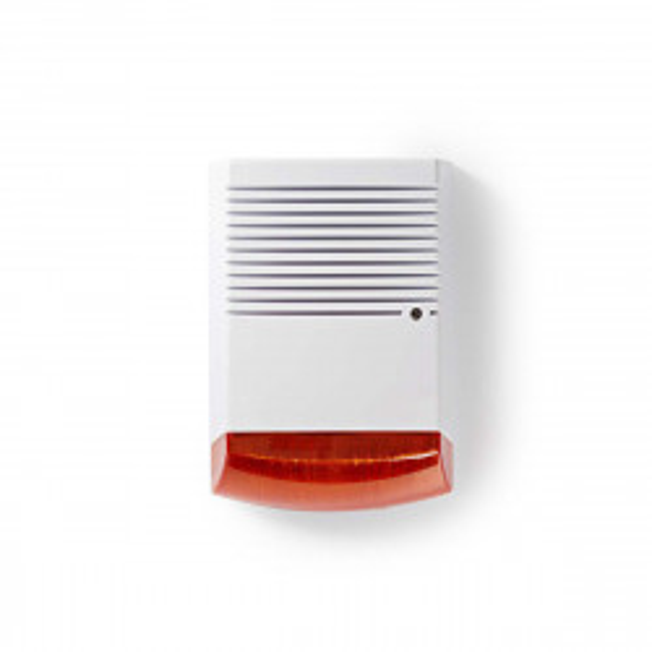 Boitier seul de sirene alarme factice autoalimentee sa120n eliminator sec-dummyfl20